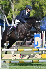 Liza Gangur rode My Jessie Girl to take 2nd place in the.70cm One Round Stakes.