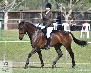 Madina Hayman rode Brick Maker Jatz to win the rider 25 and under 35 and take out the Reserve Champion Rider over 18.