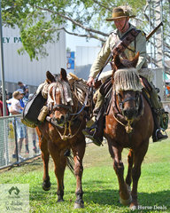 Mick Batchelor from NSW returned to Darwin with Wallis and Wiggles, to help educate the general public about the role of the Light Horse in the 1st World War.