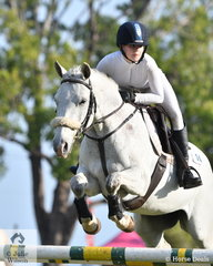 Isla McDonald was declared Champion Showjumping rider.