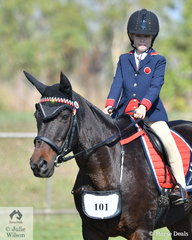 Chelsea Davidge and Prairie Girl had a successful day in the popular Sub-Junior ring.