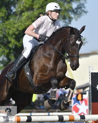 Teresa Cummings rode Tailor Made Future to third place in the 90 cm class.