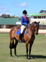 Reserve Champion Associate rider was Kaitlyn McNall from Channon Dunnoon PC