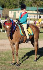 Olivia Johnson was the winner of the runner up Junior Pointscore