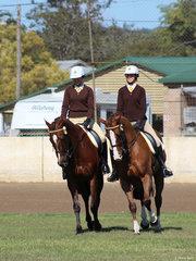 Olivia Hall and Tara Kelly from Graftom in the Associate pairs