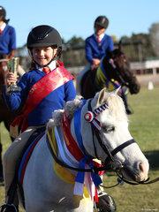Lyla Russell from Alstonville was the Leadline runner up Point score winner