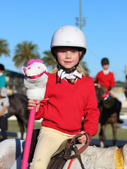 Haddie Philip was the winner of the Leadline junior girl encouragement award
