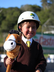 Kellah Pholi was the winner of the Leadline junior Boy encouragement award