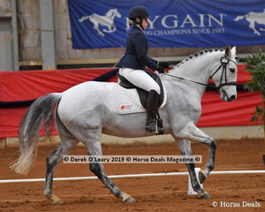 "Alexandra Michel rode ""Marlita"" in the Elementary 3A"