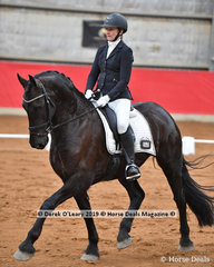 """Nirrelle Somerville placed equal 4th in the Elementary Championship riding """"Zulu II"""" with 64 points in the championship"""