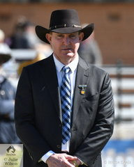 Top Victorian Thoroughbred trainer and former showjumping star, Greg Eurell was the judge this year at the always well organised and much enjoyed morning of Thoroughbred judging.