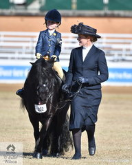 Genevieve Blanc went along to help Summer Godden take second place in the class for Rider 3 AU 5 Years.
