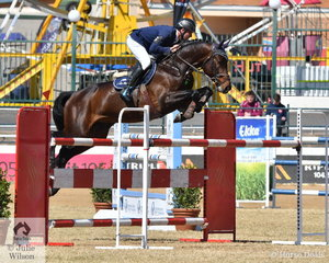 James Arkins claimed back to back Group B Championships today with his impressive and imported stallion, 'Eurostar 1'.