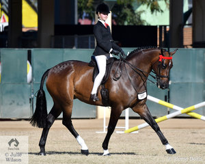 Kate Kyros from Adelaide  won the class for Girl Rider 15 AU 17 Years and was declared Reserve Champion Girl Rider 12-17 years.