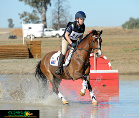With a clear Show Jumping and Cross Country round Liam McKenzie Smith and his Riding pony x welsh Barrellyn Warlord finished in third place in the EvA60 Junior on the weekend at Tamworth ODE