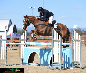 Representing New Zealand in the Roberts and Morrow sponsored CCI3* Short was Blair Richardson and he rode Indeed at the Tamworth International One Day Event.
