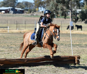 Shannon Attwell and Flicka definitely had the cute factor going for them over the weekend at the Tamworth International One Day Event, this duo could've been seen in the EvA 45 Junior competition.