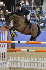 Izabella Stone and Bandito posted two clear rounds for fourth place in the Waratah Showjumping CSI 1* 1,40m.