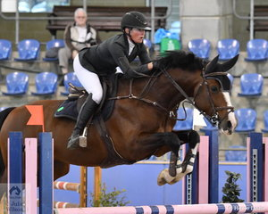 Emma Smith riding Cera Charisma had four faults in the Suzie and Pip Middleton 1.25 for horses 7 years old.