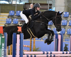 Jess Rice-Ward rode Denison Park Style to second place in the Suzie and Pip Middleton 1.25m for horses 7 years old.