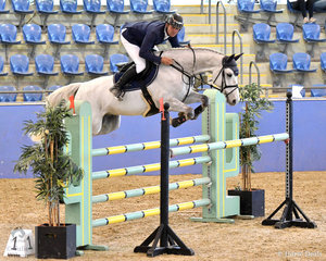 James Arkins is having a very good show. Today James rode WP Grandiamo to win the Antares Australia 1.30-1.35m Open Art.238 2.1. James also won the Suzie and Pip Middleton 1.25m for horses 7 years old riding Rosthwaite Riviera.