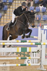 Jess Brown rode Coachella to sixth place in the Antares Australia 1.30-1.35m Open Art.238 2.1.