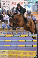 Chris Chugg rode PSS Levilenski to finish the two rounds of  the Waratah Showjumping Grand Prix CSI1*W with nine faults and take fourth place.