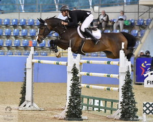 Tom McDermott rode Elegance De La Charmille to second place  in the Waratah Showjumping Grand Prix CSI1*W, with four in the first then a quick clear round in the second. Tom also placed sixth in this class riding Alpha Activity.