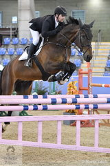 Billy Raymont jumped two clear rounds aboard YPH Picasso to place second in the Sutton Ouverture Sport Horses Future Stars.