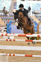 Izabella Stone rode Colina 54 to ninth place in the Sutton Ouverture Sport Horses Future Stars.