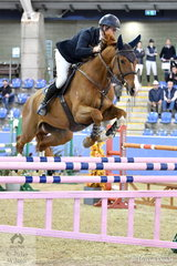David Cameron rode Finch Farm Spruce to seventh place in the Sutton Ouverture Sport Horses Future Stars Art. 273.3.3.1.