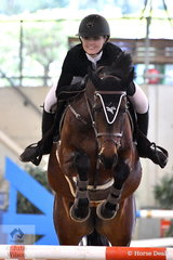 Jamie Priestley and Oaks Diamantina took fifth place in the Sutton Ouverture Sport Horses Future Stars Art. 273.3.3.1.