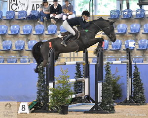 Izabella Stone rode Lincoln MVNZ to ninth place in The Riders Cup Mini Prix Art. 273.3.3.1.