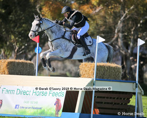 """Bianca Sigismundi placed 6th in the CCN4*-S riding """"Royal Chanel"""" with a final score of 52.2"""