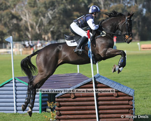 """Tania Harding placed 4th in the CCN4*-S riding """"Jirrima Yorkshire"""" with a final score of 47.2"""