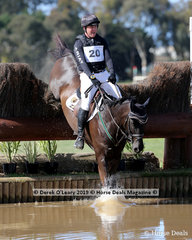 """Experineced eventer, Tim Boland, placed second in the CCN3*-S riding """"Napoleon"""" with a final score of 41.7"""