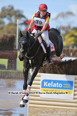 """Delwyn Olgivy and """"Precious Dreams"""" placed 4th in the CCN3*-S with a final score of 46.5"""
