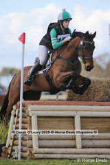 """Winner of the CCN1*-S Section 2, Lily Wickenden riding """"EA Berlin"""" with a final score of 29.1"""