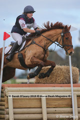 """Lauren Gretgrix placed 4th in the CCN1*-S riding """"I'm A Nuisance"""" with a final score of 32.5"""