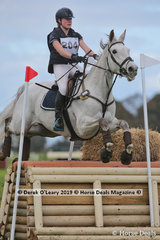 """Winner of the CCN1*-S Bella Warner riding """"Remi Royal Star"""" with a final score of 27.5"""