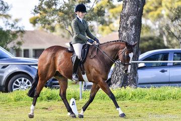 BraveHeart ridden by Maddy McDonald