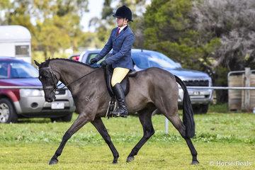 Sebastian Bellamy riding Kinmonto Othello