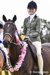 Sevenoaks Don Diego ridden by Stella Paterson, Champion Ridden Childs Mount