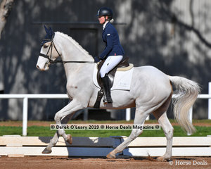 TP Tanquray ridden by Elin Jarnestrom in the Preliminary 1A