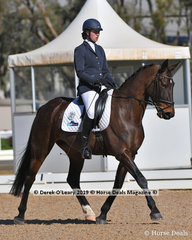 Royal Nimeesha ridden by Kirilee Hosier in the Elementary 3B.