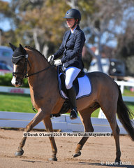 Mithril Samwise ridden by Nicole Donald in the Elemenatry 3C