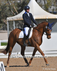 Remi Lord of The Realm ridden by Simon Tainsh in the Elementary 3B