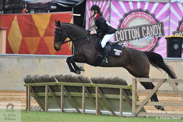 Shenae Williams and 'God's Way' took fifth place in the class for Lady's Hunter.