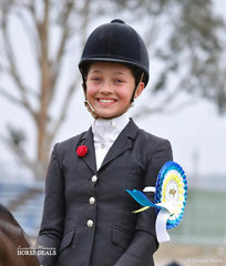 Coco Guenther was The LES FRIEND RIDING ACADEMY Champion Rider 9 and under 12 years, in very trying weather conditions!