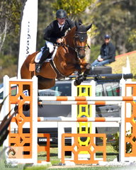 Tom McDermott was in typical form and rode 'Alpha Activity' to win the Lennock Motors Grand Prix Warm Up class.